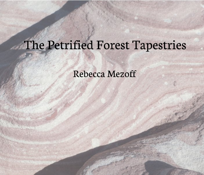View The Petrified Forest Tapestries by Rebecca Mezoff
