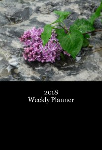 2018 Weekly Planner - Home & Garden pocket and trade book