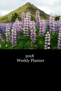 2018 Weekly Planner - Travel pocket and trade book