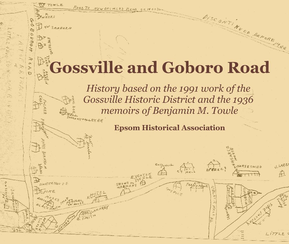 View Gossville and Goboro Road by Epsom Historical Association