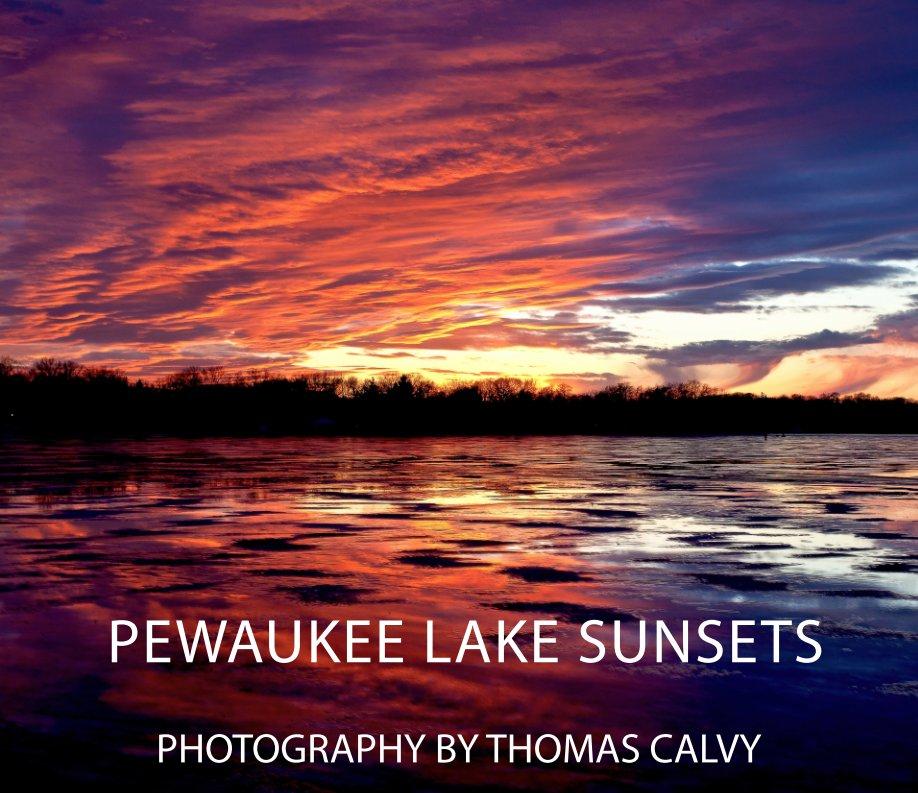 View Pewaukee Lake Sunsets by Thomas Calvy