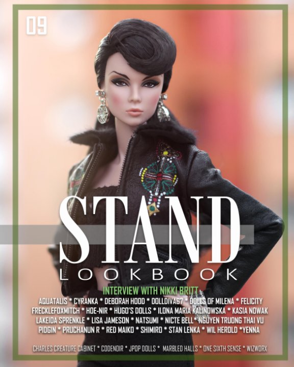 View STAND Lookbook - Volume 9 - FASHION Cover by Stand