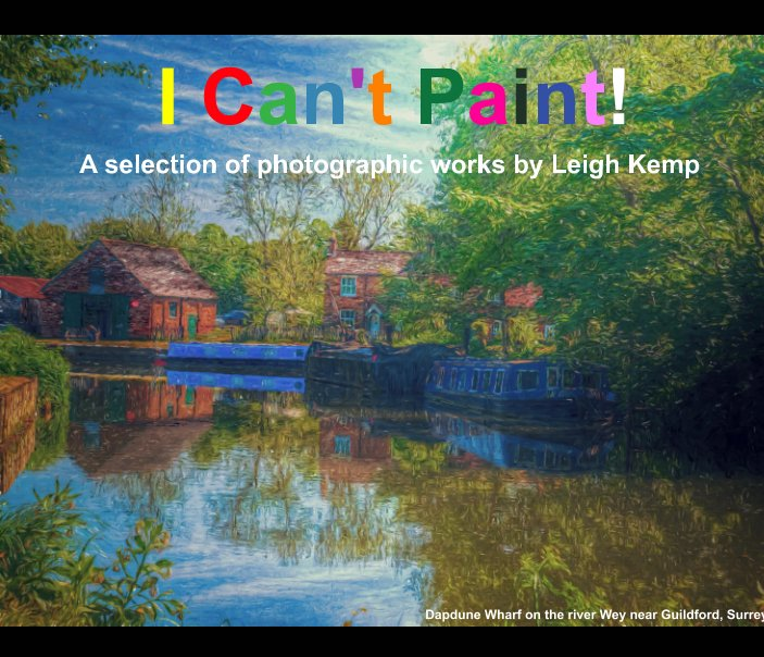 View I can't paint! by Leigh Kemp