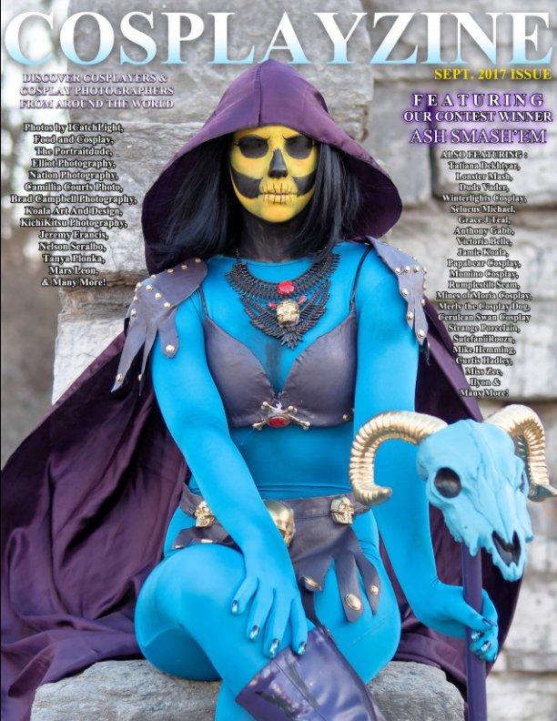 View Cosplayzine Sept Issue 2017 Alt Cover by cosplayzine