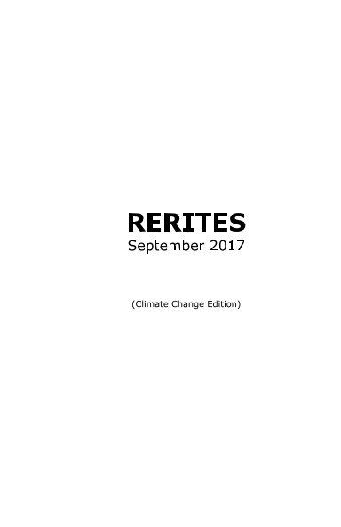 View RERITES: September 2017 by David Jhave Johnston