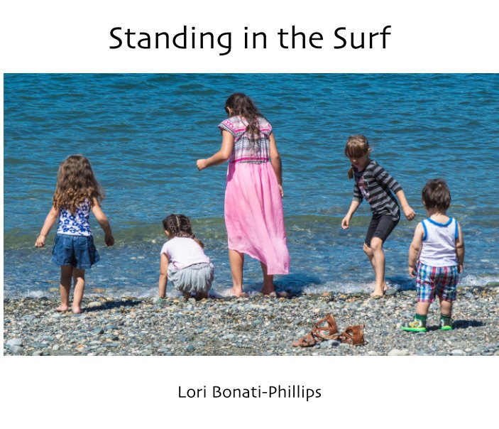 View Standing in the Surf by Lori Bonati-Phillips
