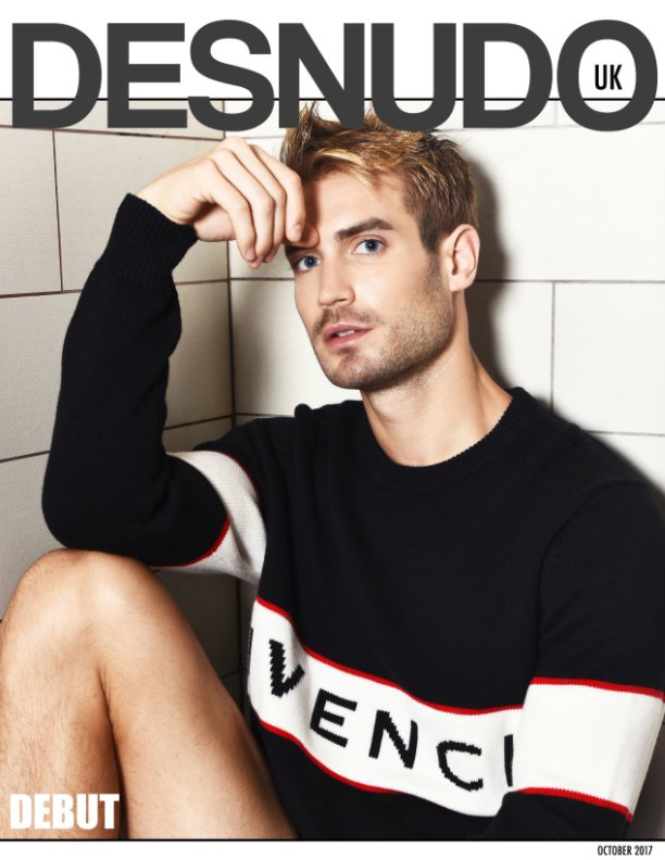 View Desnudo Magazine UK: lucas cover by desnudo uk