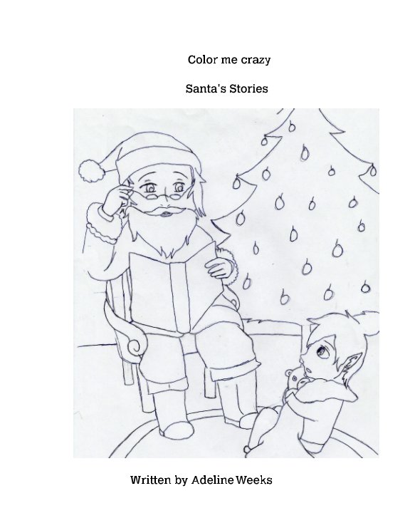 Bekijk Color me Crazy! Santa's Stories op Adeline weeks