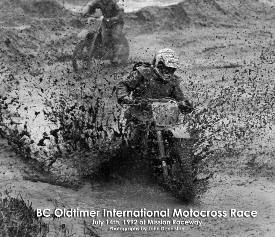 View Oldtimers Motocross in the Mud by John Denniston