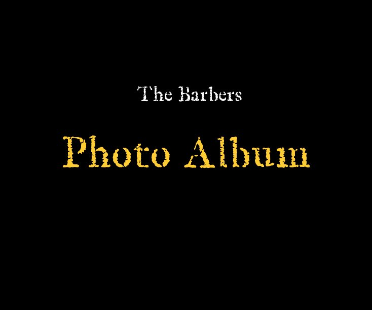 View The Barbers by Simon Barber