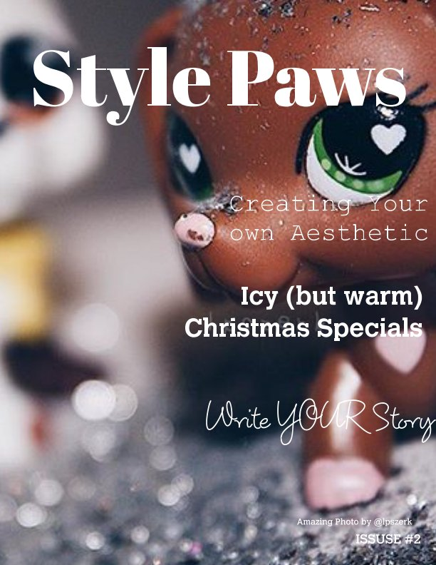 Bekijk Style Paws Magazine Issue #2 Christmas/Winter edition op A lot of different people :)