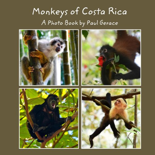 View Monkeys of Costa Rica - A Photo Book by Paul Gerace by Paul Gerace