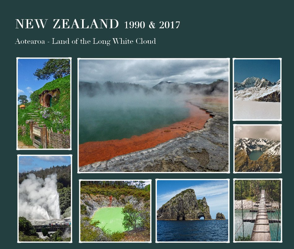 View NEW ZEALAND 1990 & 2017 by Ursula Jacob