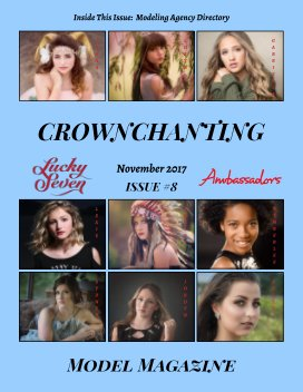 Lucky Seven Crownchanting Model Magazine Issue #8 November 2017 - Fine Art Photography economy magazine
