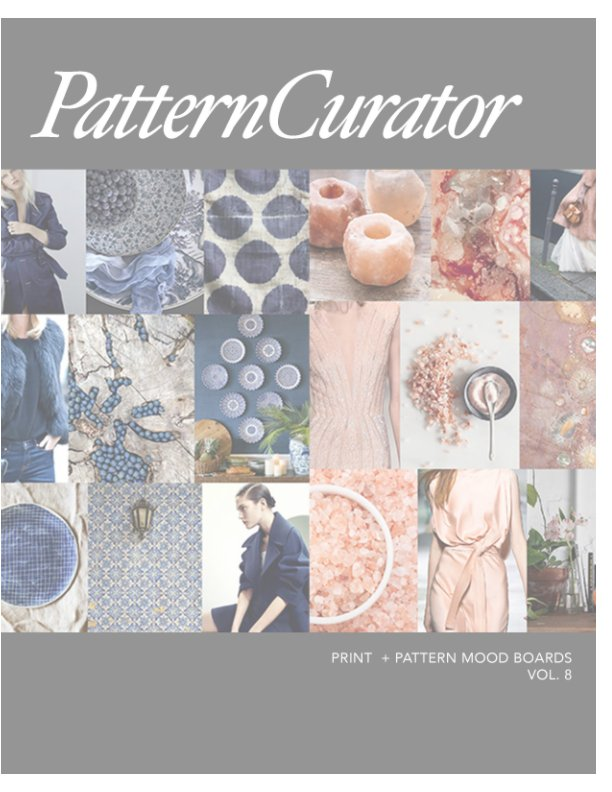 View Pattern Curator Print + Pattern Mood Boards Vol. 8 by PatternCurator