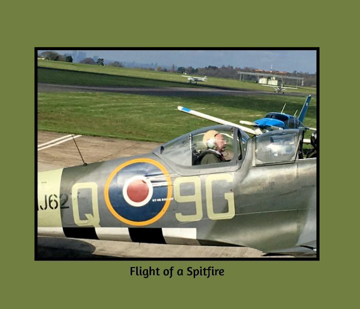 View Flight of a Spitfire by C Dally
