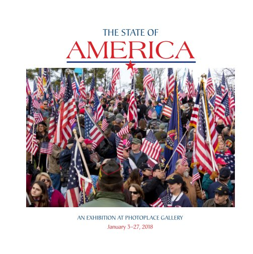 View State of America, Hardcover Imagewrap by PhotoPlace Gallery