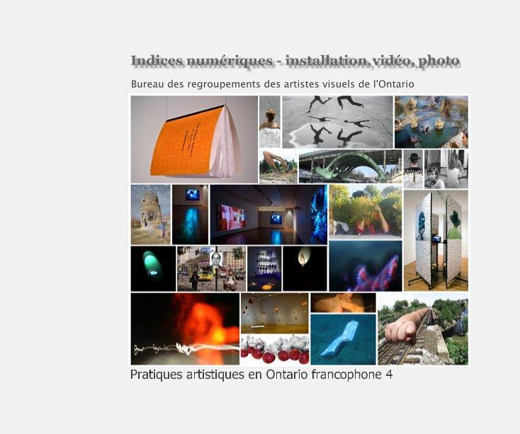 View Indices numériques by Bureau des regroupements des artistes visuels de l'Ontario