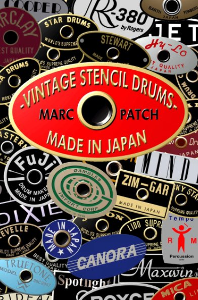 View Vintage Stencil Drums Made In Japan by Marc Patch
