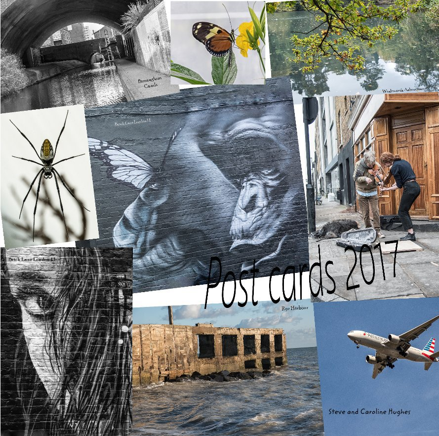 View Postcards 2017 by Steve and Caroline Hughes