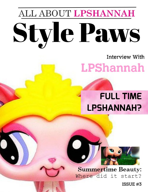 "View SPM Issue #3 ""LPShannah Edition"" SPECIAL EDITION by SPM Staff"
