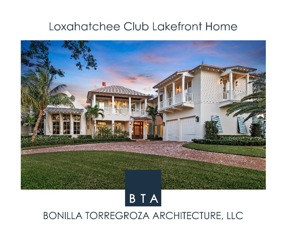 View Loxahatchee Club Lakefront Home by Ron Rosenzweig