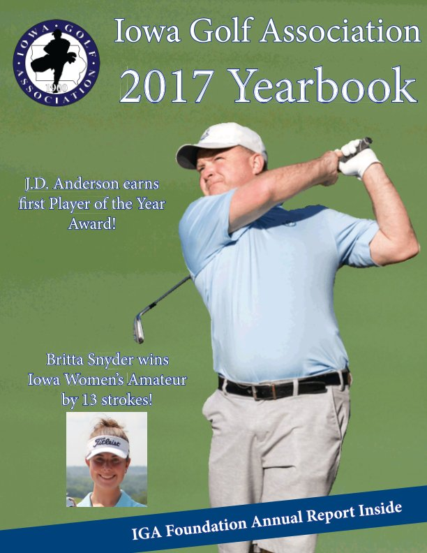 View 2017 Yearbook by Iowa Golf Association