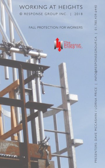 View Working at heights - 2nd Edition by Dave McCashin