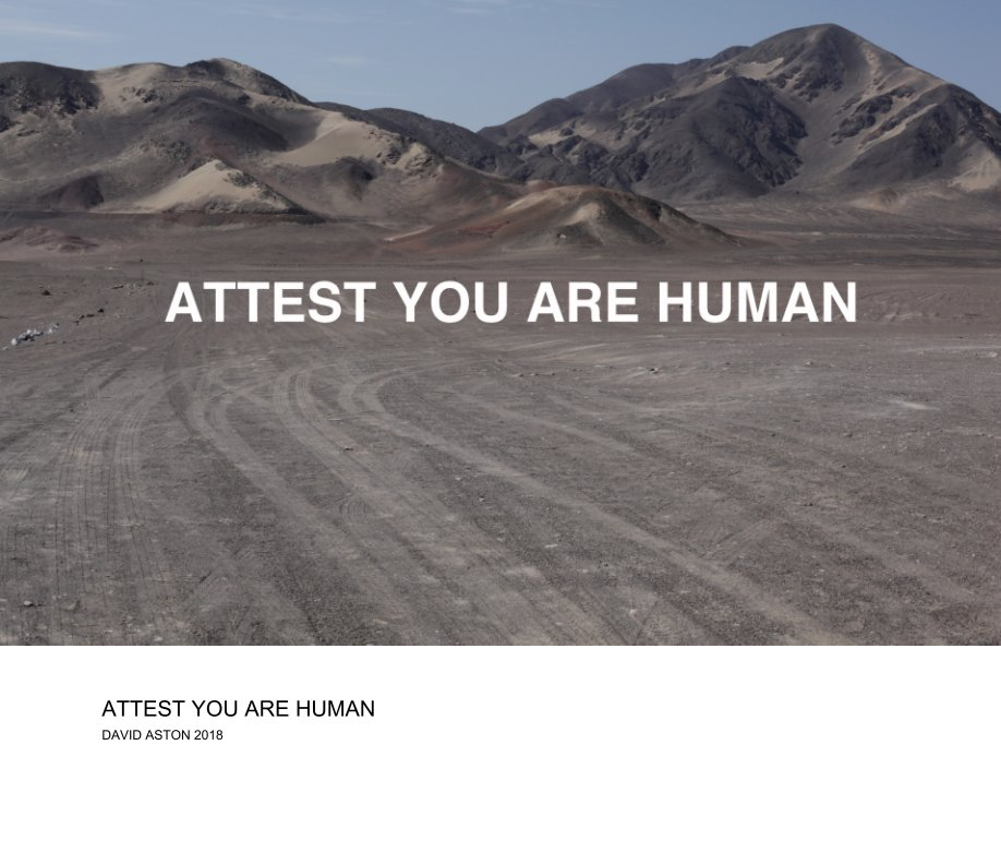 View ATTEST YOU ARE HUMAN by David Aston