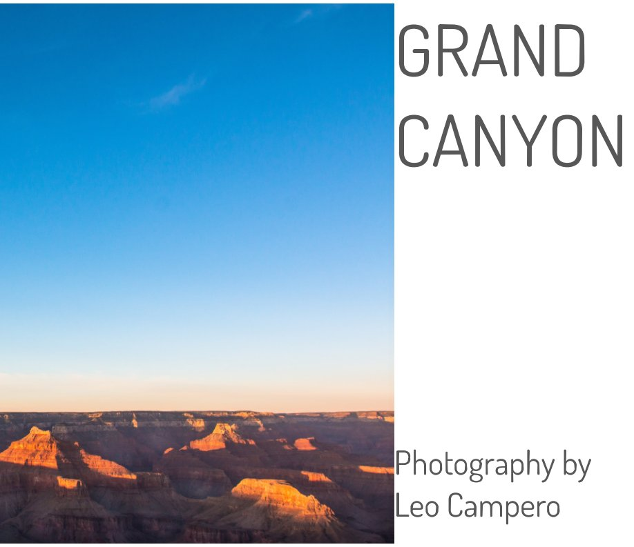 View GRAND CANYON by Leo Campero
