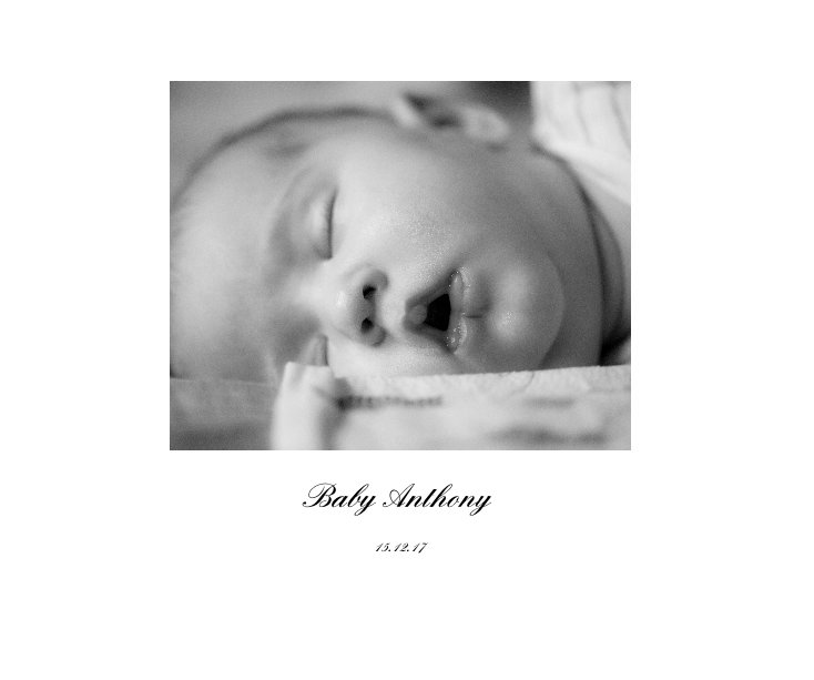 View Baby Anthony by Garter Wedding Photography