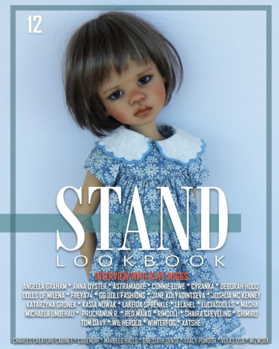 View STAND Volume 12 BJD Cover by STAND