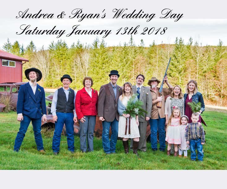 View Andrea & Ryan's Wedding Day Saturday January 13th 2018 by WoodEye