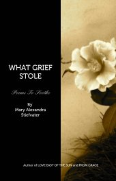 WHAT GRIEF STOLE - Poetry pocket and trade book