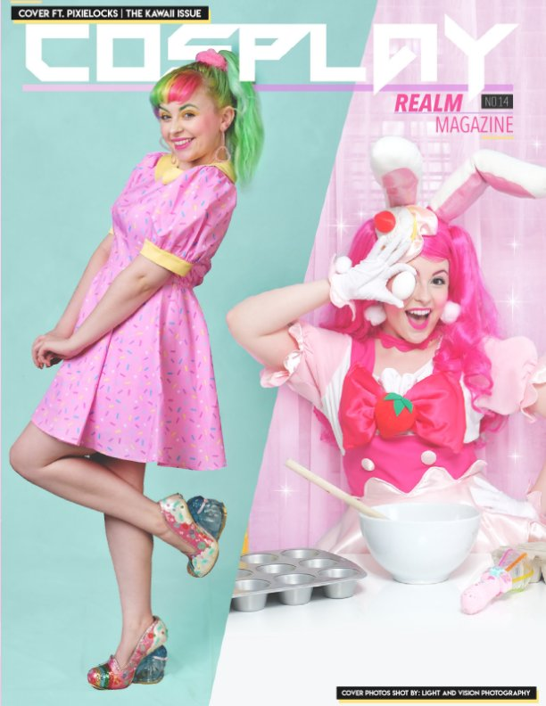 View Cosplay Realm Magazine No. 14 by Emily Rey, Aesthel