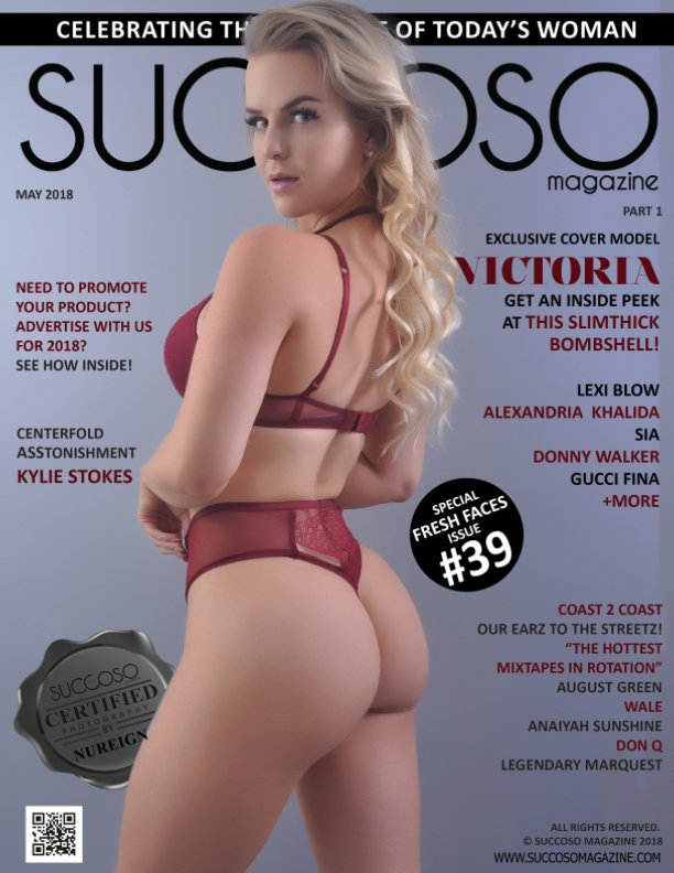 View MAY 2018 SUCCOSO MAGAZINE DOUBLE COVER MODELS VICTORIA / LEXI BLOW PART 1 by SUCCOSO MAGAZINE