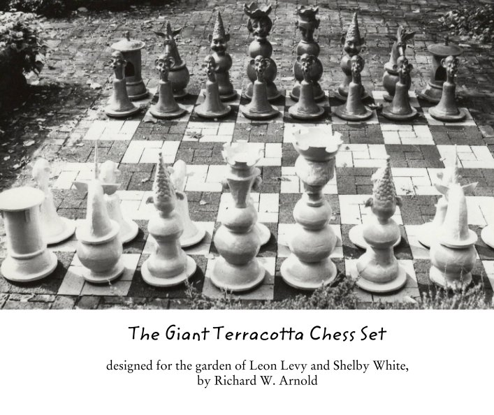 View The Giant Terracotta Chess Set by Richard W. Arnold