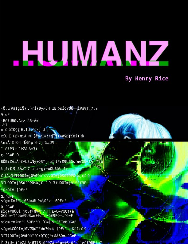 View HUMANZ by Henry Rice