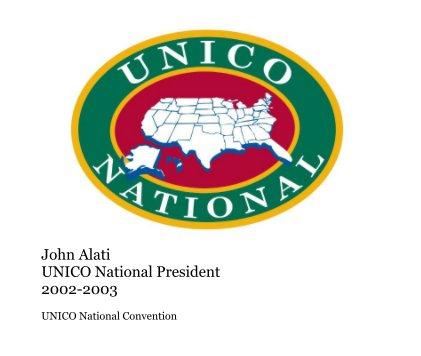 John Alati UNICO National President 2002-2003 - Nonprofits & Fundraising photo book