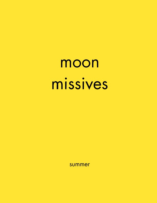 View moon missives by moon missives