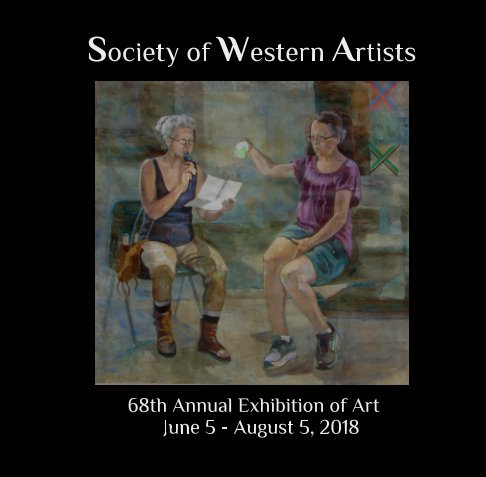 View Society of Western Artists 68th Annual Exhibition of Art - 2018 by Sherry Vockel SWA