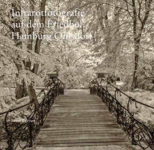 Infrarotfotografie auf dem Friedhof Hamburg Ohlsdorf nach Ernst Egener anzeigen