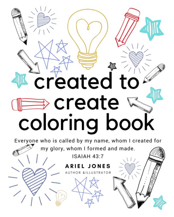View Created to Create Coloring Book by Ariel Jones