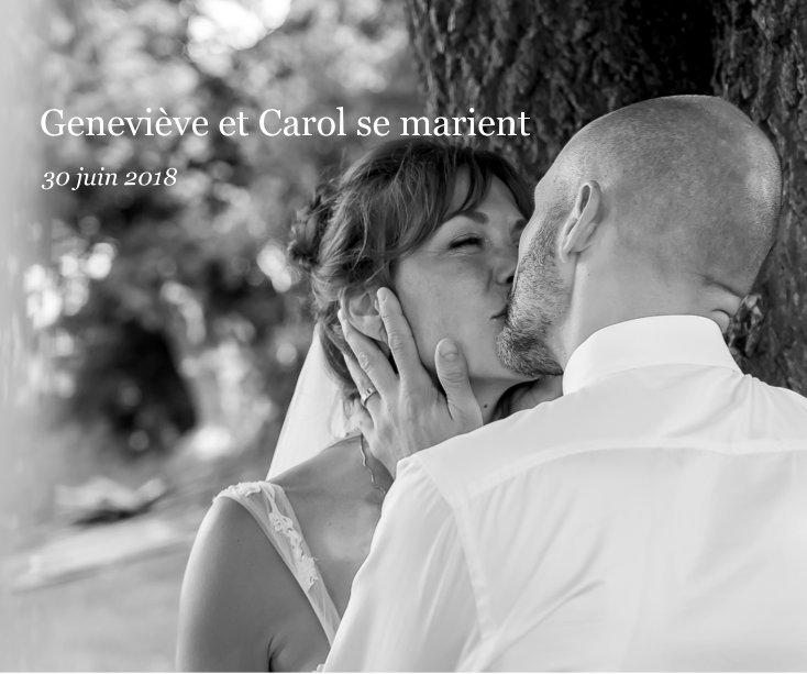 View Geneviève et Carol se marient by Madeleine Bourgeois