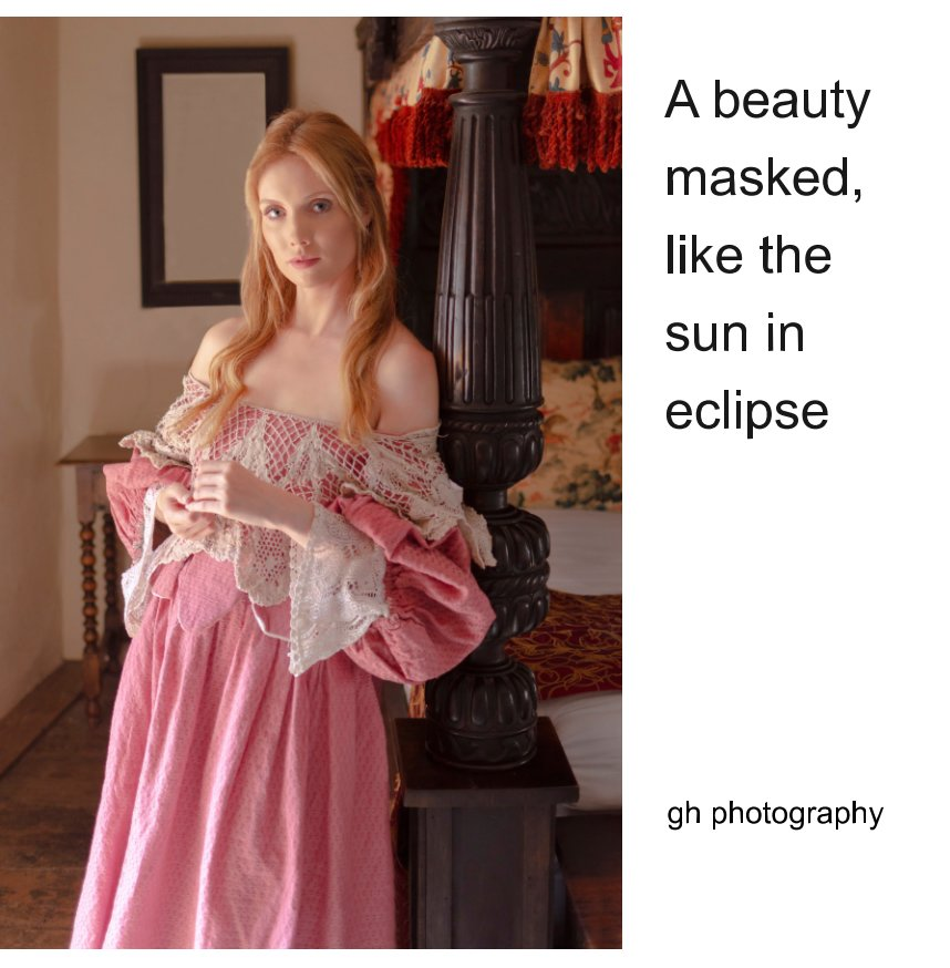 View A beauty masked like the sun in eclipse by gh photography