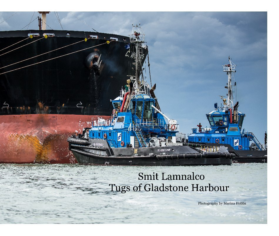 View Smit Lamnalco Tugs of Gladstone Harbour by Photography by Marina Hobbs