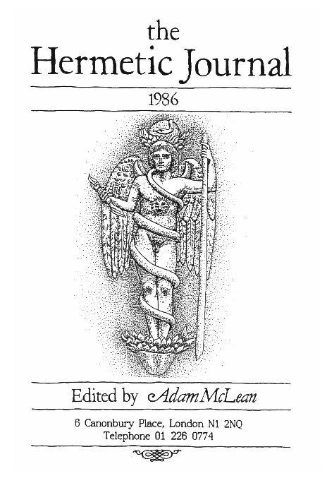 View The Hermetic Journal 1986 by Adam McLean