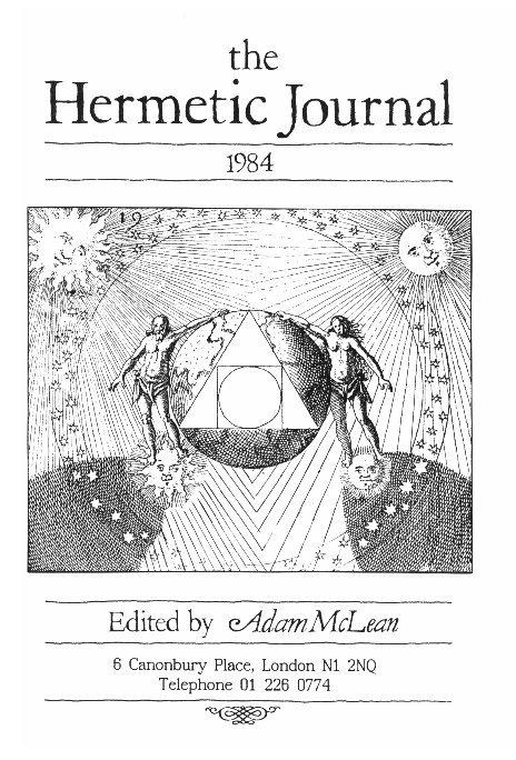 View The Hermetic Journal 1984 by Adam McLean