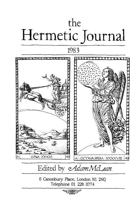 View The Hermetic Journal 1983 by Adam McLean