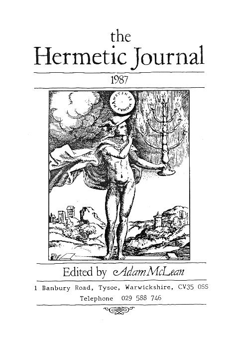 View The Hermetic Journal 1987 by Adam McLean